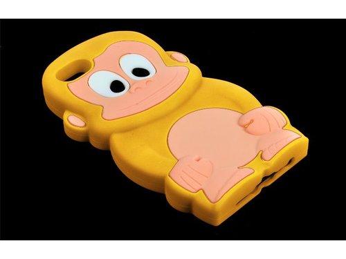 Чехол обезьянка для iPhone 5/5s Желтый