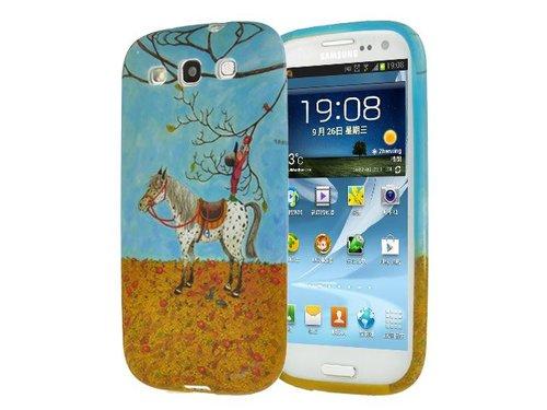 Чехол мальчик с лошадкой для Galaxy S 3 i9300