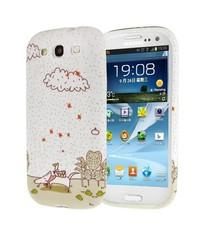 Чехол со зверушками для Galaxy S3