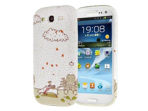 Чехол со зверушками для Galaxy S3 i9300