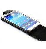 Кожаный флип чехол для Galaxy S4 i9505
