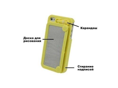 Крышка чехол Доска рисования для iPhone 4/4s
