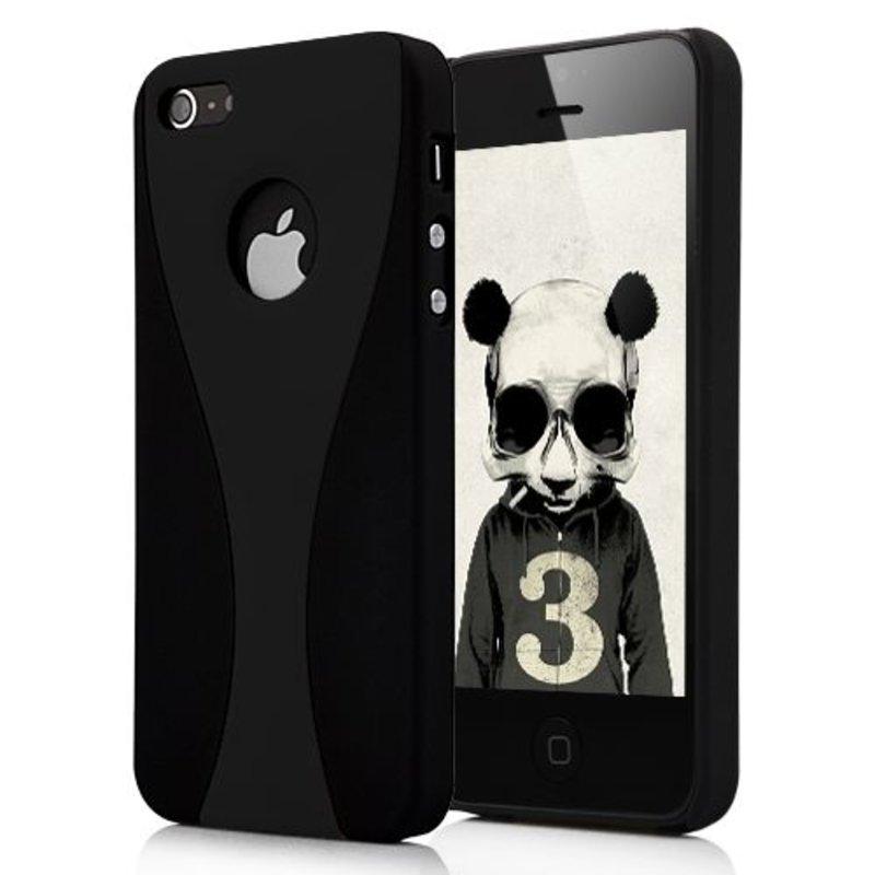Черная накладка для iPhone 5/5s