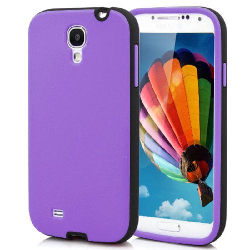 Пурпурная накладка на Samsung Galaxy S4
