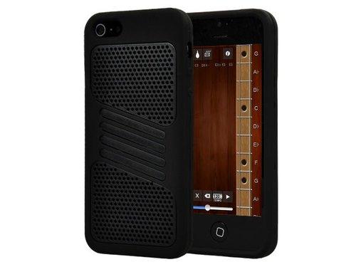 Двойной чехол для iPhone 5/5s Соты Черный