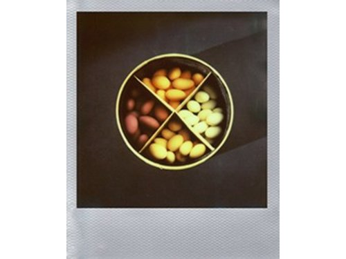 Кассета Polaroid Color Film 600 Silver Frame