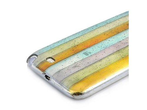 Крышка чехол Радуга для Galaxy Note 2