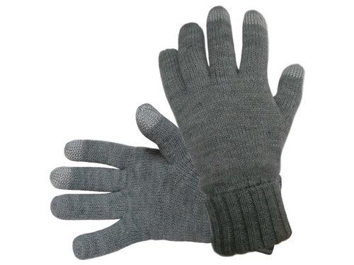 Перчатки Hofler для сенсорных экранов Серые