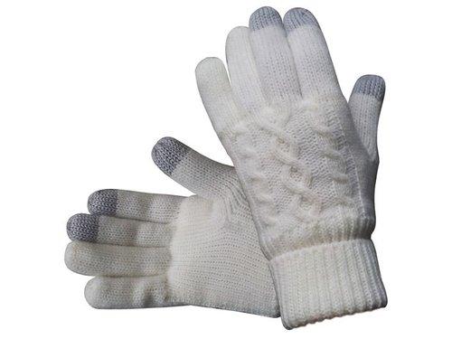 Женские перчатки с сенсорами Узор