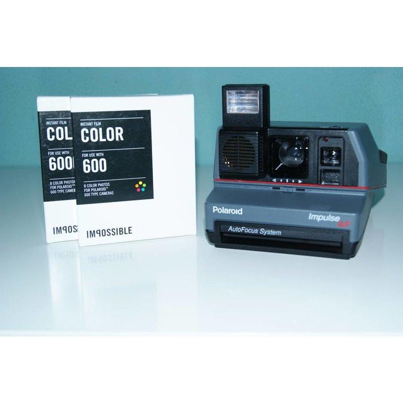 Polaroid Impulse AF + 2 кассеты