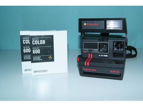 Polaroid Supercolor 635 CL + 2 картриджа