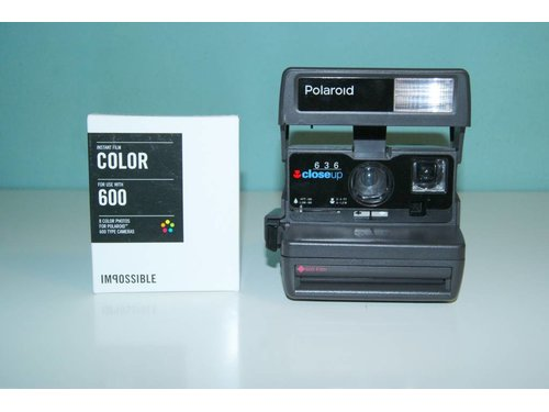 Polaroid 636 CloseUp + 2 кассеты