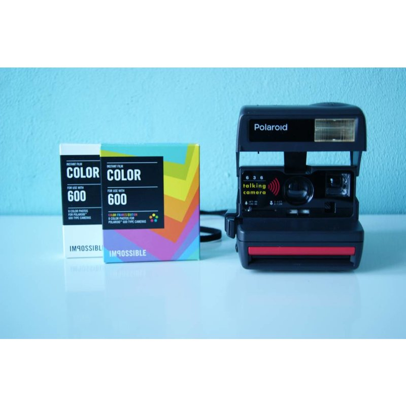 Polaroid 636 Talking Camera + 2 кассеты