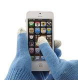 Голубые сенсорные перчатки Samsung iPhone iPad