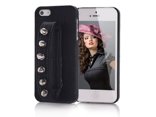 Чехол ремешок и заклепки на iPhone 5/5s