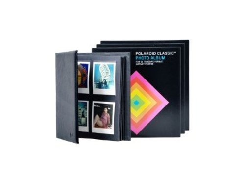 Альбом для Polaroid фотографий кожаный