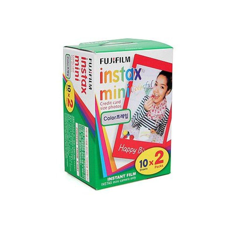Кассета Fuji Instax с цветной рамкой