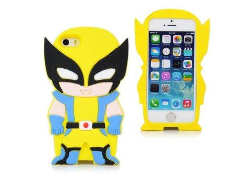 Чехол Росомаха Marvel на iPhone 5/5s