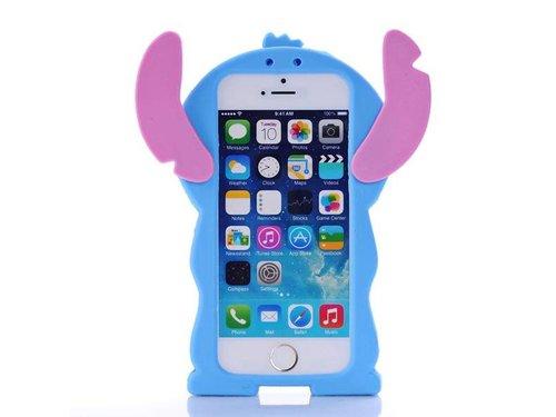 Чехол Стич для iPhone 5/5s Силиконовый