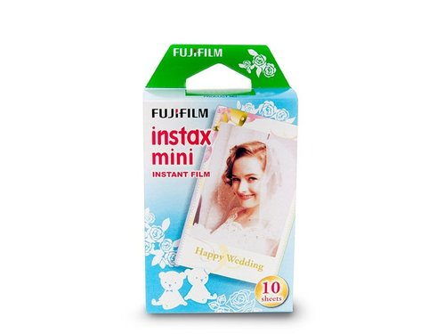 Кассета Fuji Instax Mini со свадебной рамкой