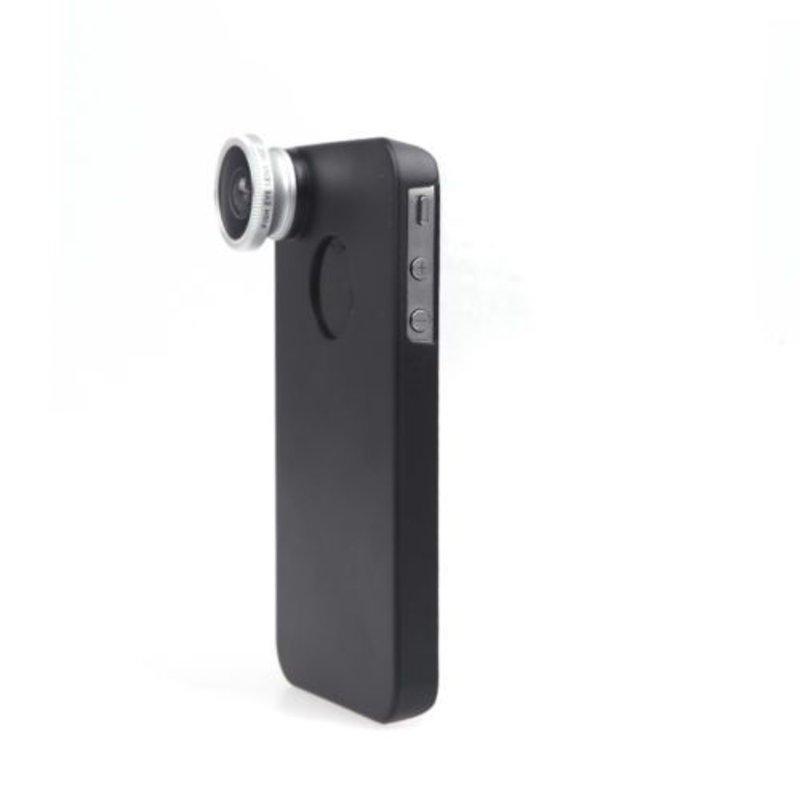 Линза Фишай для iPhone 4/4s с чехлом насадкой