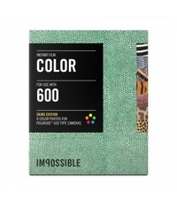 Polaroid кассета с рамками в виде кожи и меха