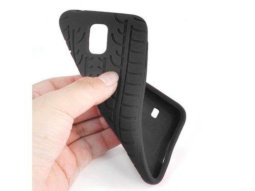 Силиконовый чехол шина Galaxy S5 Черный