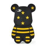 Чехол Gloomy Bear Черно-желтый