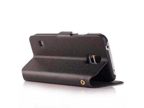 Кожаный чехол подставка для Galaxy S5 G900