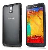 Пластико силиконовый бампер на Samsung Galaxy Note 3 Черный