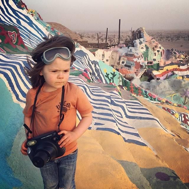 Фотографии 4-х летнего Хоуки Хьюи, сына фотографа National Geographic Аарона Хьюи