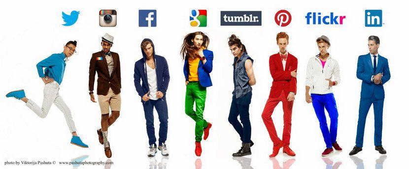 Что если бы парни стали социальными сетями?