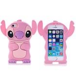 Чехол Стич для iPhone 5/5s Розовый