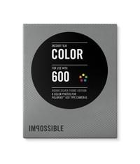 Полароид 600 кассета цветная с серебряными рамками