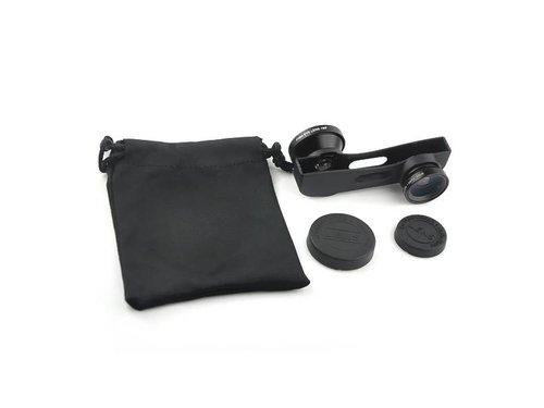 Линза 3в1 iPhone 6 Plus Черная