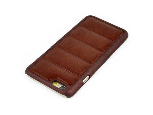 Панельный чехол накладка для iPhone 6 Коричневый