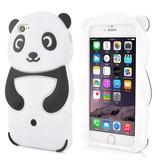 Силиконовый чехол панда для iPhone 6/6s