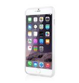 Прозрачно белый ТПУ чехол для iPhone 6 Plus