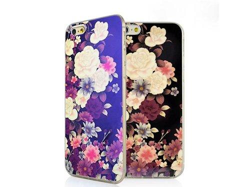 Накладка цветочки для iPhone 6 Plus
