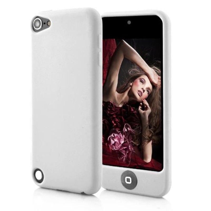 Чехол силиконовый на iPod Touch 5 Белый