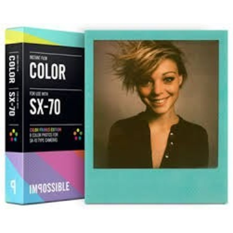 Картридж Polaroid SX-70 c цветной рамкой
