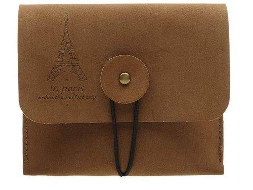 Кожаный конверт для карточек Instax Polaroid