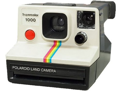 Polaroid Supercolor 1000 Land Camera