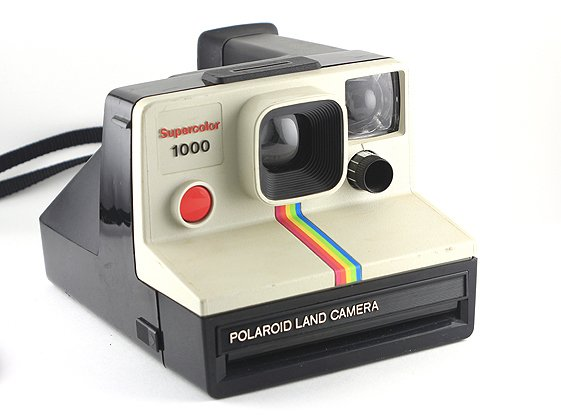 polaroid supercolor 1000 land camera. Black Bedroom Furniture Sets. Home Design Ideas
