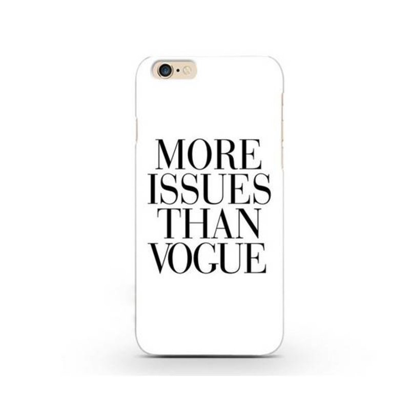 More Issues Than Vogue чехол на iPhone 6/6s