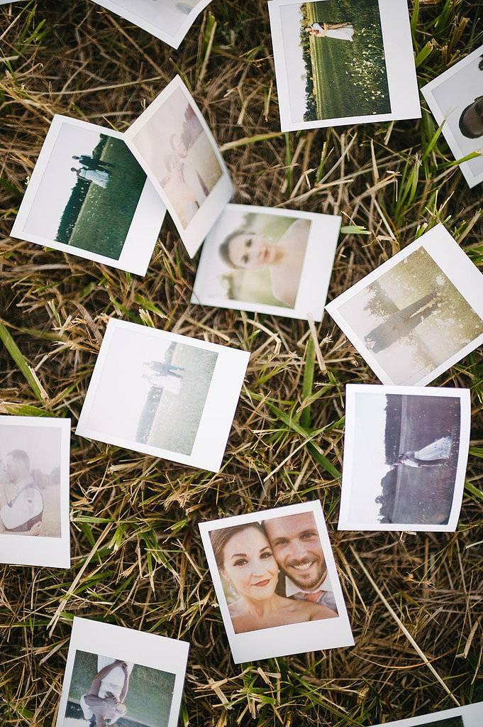Как организовать идеальную свадьбу в стиле полароид