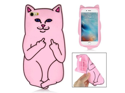 Чехол Кот Lord Nermal iPhone 6/6S