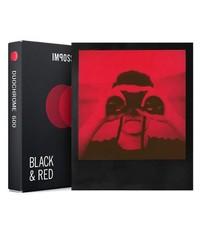 Черно красная пленка Polaroid 600