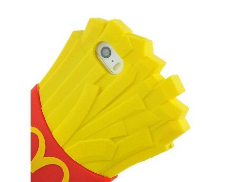 Чехол Moschino картошка фри iPhone 5/5s