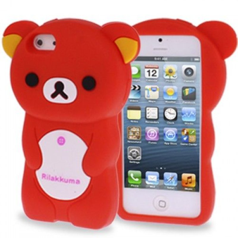 Чехол мишка Rilakkuma iPhone 5/5s